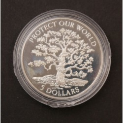 Silver collectable 5 Dollar...