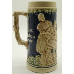 German Gertz Beer Blue Mug...