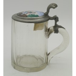 Vintage Beer Tankard Glass...