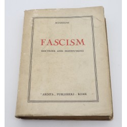 Vintage Book Mussolini, The...